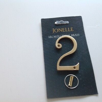 """New  In Package .brass 3""""  John Lewis. (Jonelle) Architectural  No 2"""