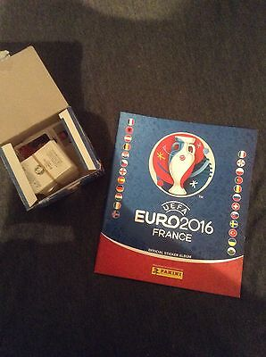 Pannini Euro 2016 Sticker Book and Spares - Partially complete
