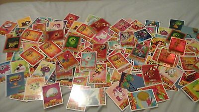 Moshi Monsters SM Trading Cards job lot of about 150 cards