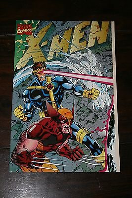 X-Men #1 (1991)  Nm 9.4 Jim Lee Deluxe Edition Fold-Out Cover; 1St Printing