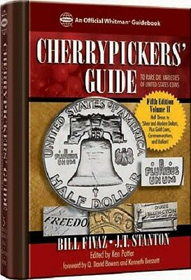 Cherrypicker's Guide to Rare Die Varieties of United States Coins, Vol 2 5th New