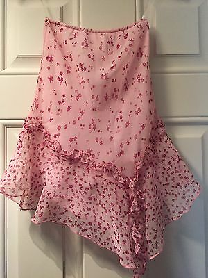 Girls F & F Top And Skirt Set Age 6-7