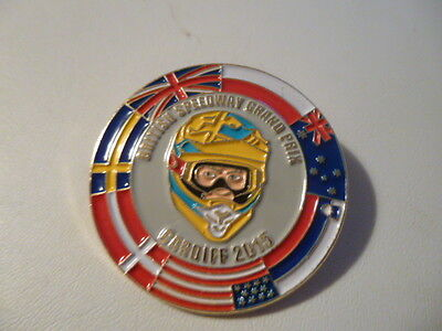 2015 British Speedway Grand Prix Badge