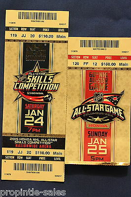 2015 NHL All-Star Game & Skills  TICKETS  Columbus Blue Jackets