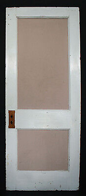 "11avail 30""W Antique Vintage Interior Solid Wood Wooden Door Flat Recessed Panel"