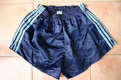 Vintage Retro Adidas Sprinter Running Shiny Nylon Shorts *D7 Large*
