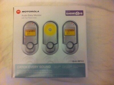 Motorola digital audio baby monitor with two parent units model MBP 16/2 - Works