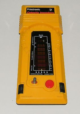 PRINZTRONIC GALACTIC INVADERS - Jeu électronique / Electronic Handheld game 1981