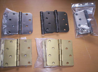 LOT of 5 PAIR: Door Hinges Variety