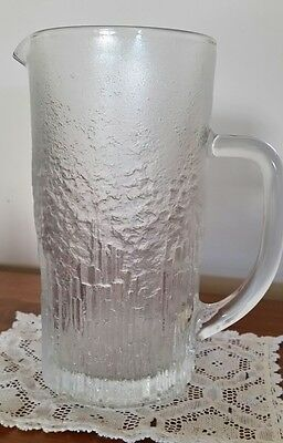 Scandinavian Glass Iittala? Jug Pitcher