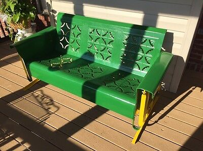 """John Deere"" Paint Scheme Antique Glider"