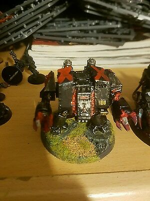 Warhammer 40k Metal Blood Angels Death Company Furioso Dreadnought