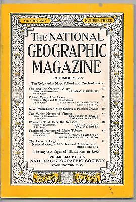 national geographic-SEPT 1958-THE WHITE HORSES OF VIENNA.