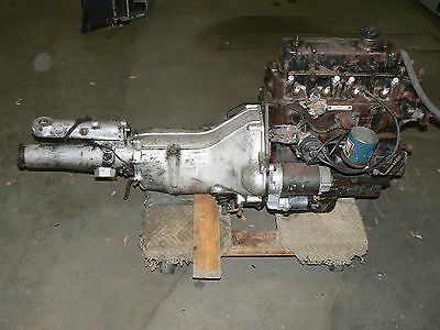 "Early MGB Engine With Later Head & Transmission ""18GH"" 5 Main Bearing Fits MGA ?"