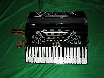 Vintage Custom Built Video Accordian Made in Italy