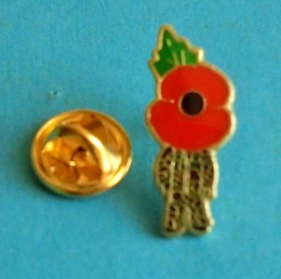 Royal British Legion Army Soldier Poppy Badge