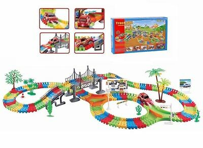 Children Kids Car Flexible Variable Track Set 154/257 Racing Game F&F Post
