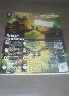 Record World Newspaper - Dec 23, 1978 The Lord  of the Rings - Stiff Records