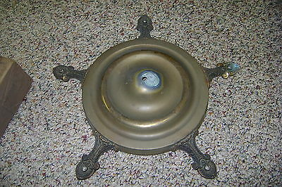 Vintage Art Deco 5 Light Chandelier Antique Home & Garden Ceiling Fixture Parts