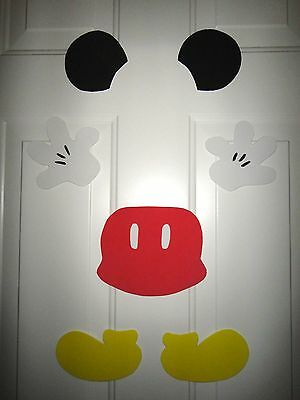 Disney Cruise Line Mickey Mouse Stateroom Door Magnet Set