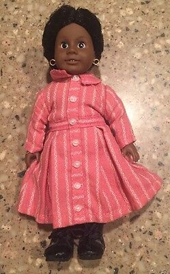 "American Girl Retired Mini 6"" Addy Doll With Glass Eyes Pleasant Company Clean"