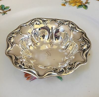 Wallace Eaton Sterling Silver Nut Dish Mono 'S'