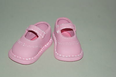 Ceramic Baby Shoes Pink Brand New
