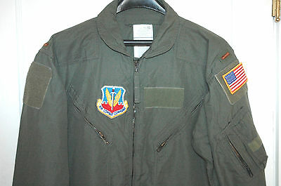 VTG USAF Strategic Air Command Flight Suit PATCHES Coveralls RARE Force