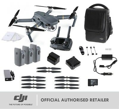 NEW DJI Mavic Pro Fly More Combo Bundle 4K Drone | Genuine AUS Stock - Dealer