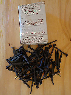 "2"" Rose Head, Decorative Old-Fashion Wrought Head Iron Nails, Lot of 71 Nails"