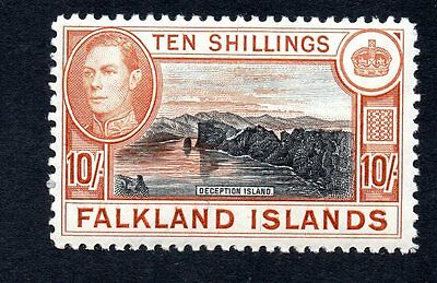 Falkland Islands 1938 King George VI Deception Island MH #95 See Scan of Reverse