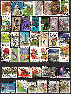 NEW ZEALAND 39 stamps, all different (page1)