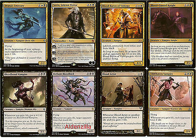 MTG Orzhov Vampire Lifegain Deck (Black White) - Sorin Life Gain Magic Gathering