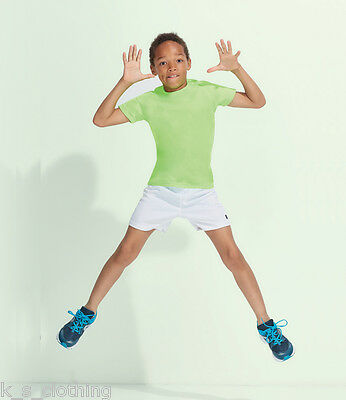 SOL'S Kids Sporty T-Shirt - Running Playing Fitness Gym Training (01166)