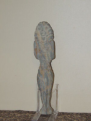 Antique Giant Stone Figure statuette,mother godess,fertility,humanoid,idol,alien