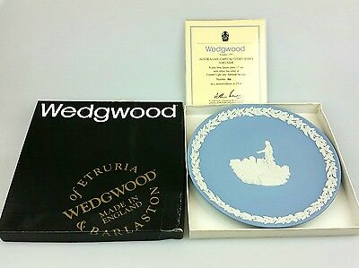 Wedgwood - Australian Capital Cities Adelaide - Jasper Blue In Box