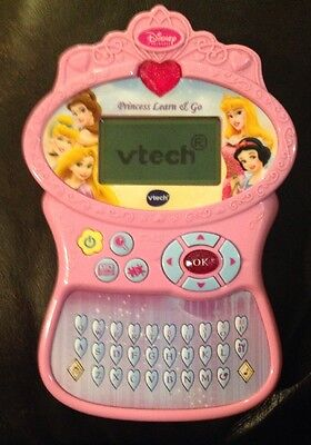 Disney Vtech Princess Preschool LCD Learn & Go