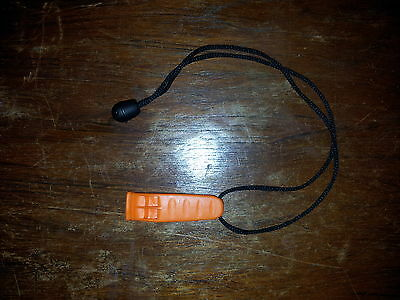 Quality Nexus Marine Safety Whistle Lanyard