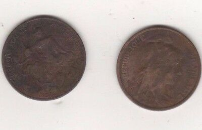 1916 French 5 cents