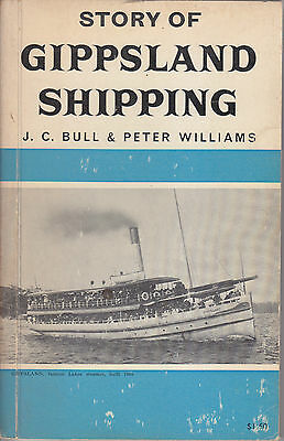 "Rare First Edition ""story Of Gippsland Shipping"" Book 1967 Steamship Navigation."
