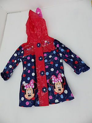 Disney Minnie Mouse mac raincoat age 2 - 3 years very cute and colourful