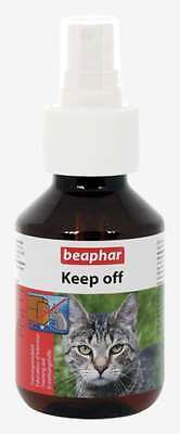 Beaphar Cat Keep Off Effective Repellent Spray 100ml very effective for dogs