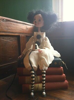 OOAK Art Doll Pierrette By Anastasia Georgiou