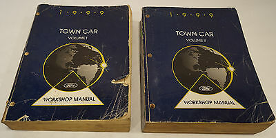 2002 Lincoln Town Car Factory Service Shop Manual 2-Volume Set 33186