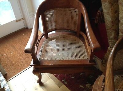 4 bergere  chairs