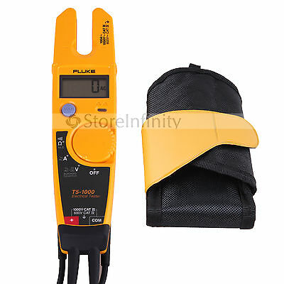 FLUKE T5-1000 & Holster Voltage Continuity Current Electrical Tester