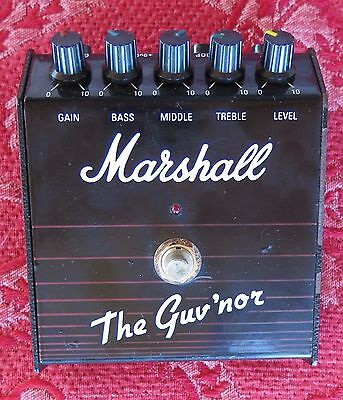 Pédale d'effet Overdrive/Distortion Vintage Marshall The Guv'nor.