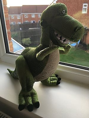 Official Disney Parks Store Rex From Toy Story Small Soft Toy Plush