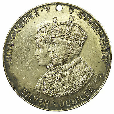 Medal, King George V Silver Jubilee, City Of Birmingham, 1935