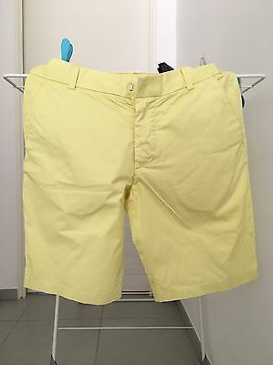 Short Homme Jaune H&M Taille 40
